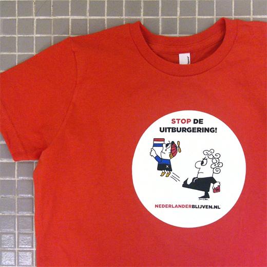 T-Shirt Voorbeeld